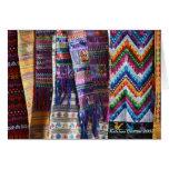 Guatemalan Weaving Greeting Card