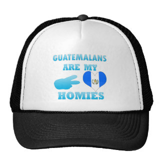 Guatemalans are my Homies Mesh Hats