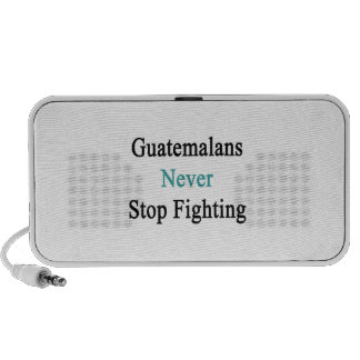Guatemalans Never Stop Fighting Speakers