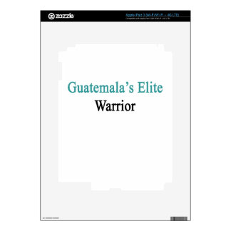 Guatemala's Elite Warrior Skins For iPad 3