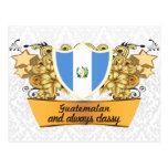 Guatemalteco con clase postales