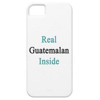 Guatemalteco real dentro iPhone 5 protector