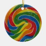 GUAU. Eso es un ornamento enorme del Lollipop de Adornos