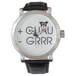 + Guau - Grr Relojes De Pulsera