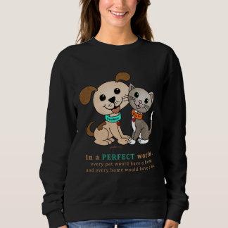 Guau y MeeYow (tratamiento Adopción-Humano del Camisas