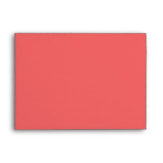 Guava Colored 5x7 Envelope
