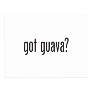 guayaba conseguida postal