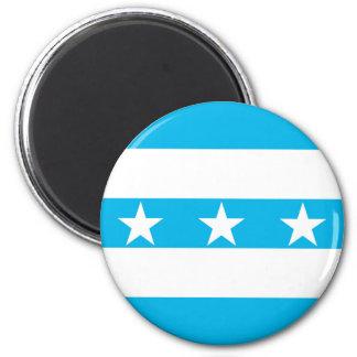 Guayaquil city flag Ecuador symbol Magnet
