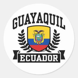 Guayaquil Ecuador Classic Round Sticker