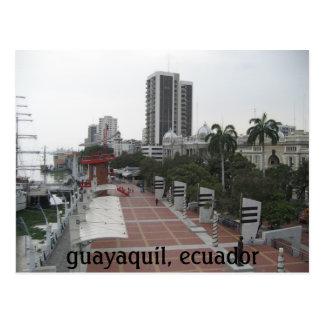 guayaquil, ecuador post card