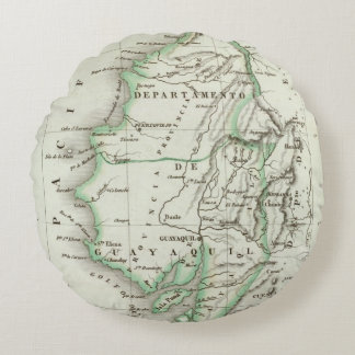 Guayaquil Round Pillow
