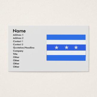 Guayas, Equador Business Card