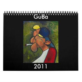 GuBa 2011 calendar