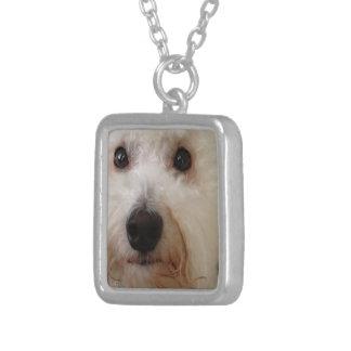 Gucci - Bichon Frise pup - necklace