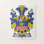 Gude Family Crest Jigsaw Puzzle