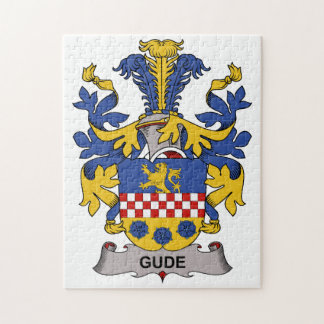 Gude Family Crest Jigsaw Puzzles