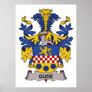 Gude Family Crest Print