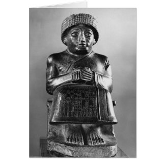 Gudea, Prince of Lagash Card