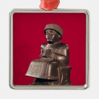 Gudea, príncipe de Lagash, dedicó a Adornos