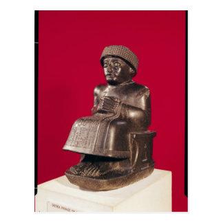 Gudea, príncipe de Lagash, dedicó a Postales