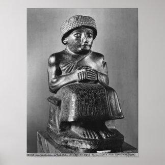 Gudea, príncipe de Lagash Posters
