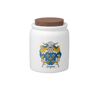 Guedes Family Crest Candy Dish