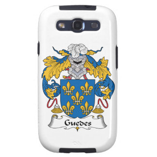 Guedes Family Crest Samsung Galaxy SIII Cases