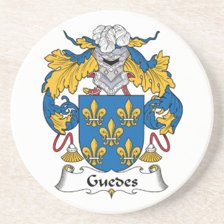 Guedes Family Crest Coaster