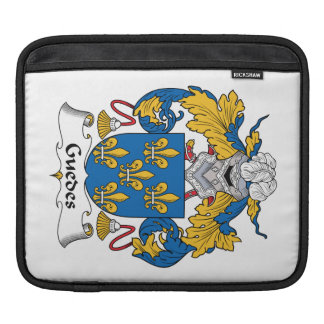 Guedes Family Crest iPad Sleeves