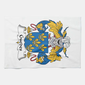 Guedes Family Crest Towel