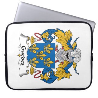 Guedes Family Crest Laptop Sleeve