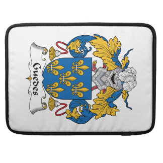 Guedes Family Crest Sleeve For MacBook Pro
