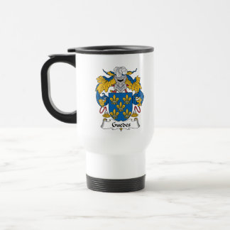 Guedes Family Crest Mugs