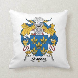 Guedes Family Crest Pillow