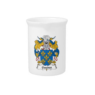 Guedes Family Crest Drink Pitcher