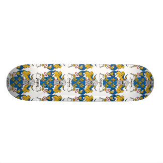 Guedes Family Crest Skate Board Deck