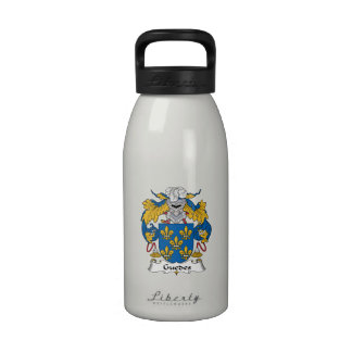 Guedes Family Crest Reusable Water Bottle