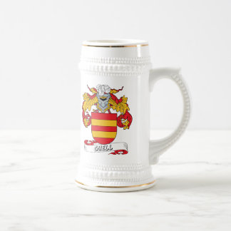 Guell Family Crest 18 Oz Beer Stein