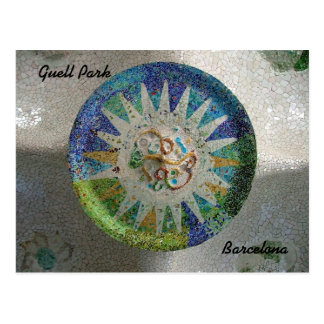 Guell Park Postcard