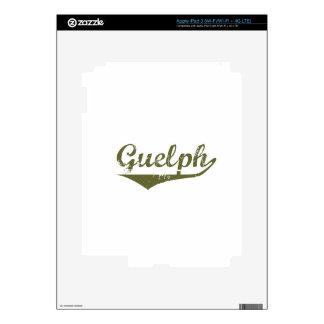Guelph iPad 3 Skins