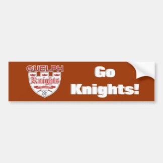 Guelph Knights Bumper Sticker