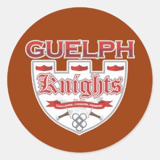 Guelph Knights Classic Round Sticker