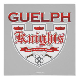Guelph Knights Poster
