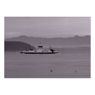 Guemes Island Ferry Large Business Cards (Pack Of 100)