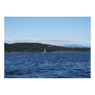 Guemes Island Ferry Business Card Template