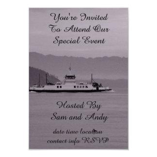 Guemes Island Ferry Card