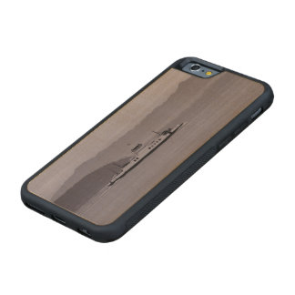 Guemes Island Ferry Carved Maple iPhone 6 Bumper Case