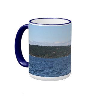 Guemes Island Ferry Coffee Mugs