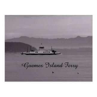 Guemes Island Ferry Postcard