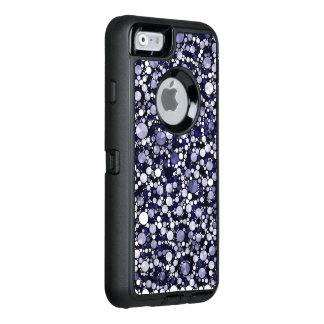 Guepardo azul Bling Funda Otterbox Para iPhone 6/6s
